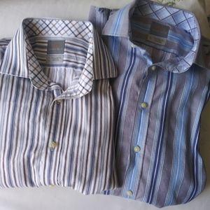 Thomas Dean Button Down Shirt bundle size XL